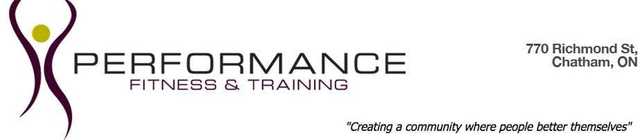 Performance Fitness & Training – Chatham, ON
