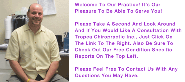 Tropea Chiropractic | Sunnyvale Chiropractor | Tropea Home Text